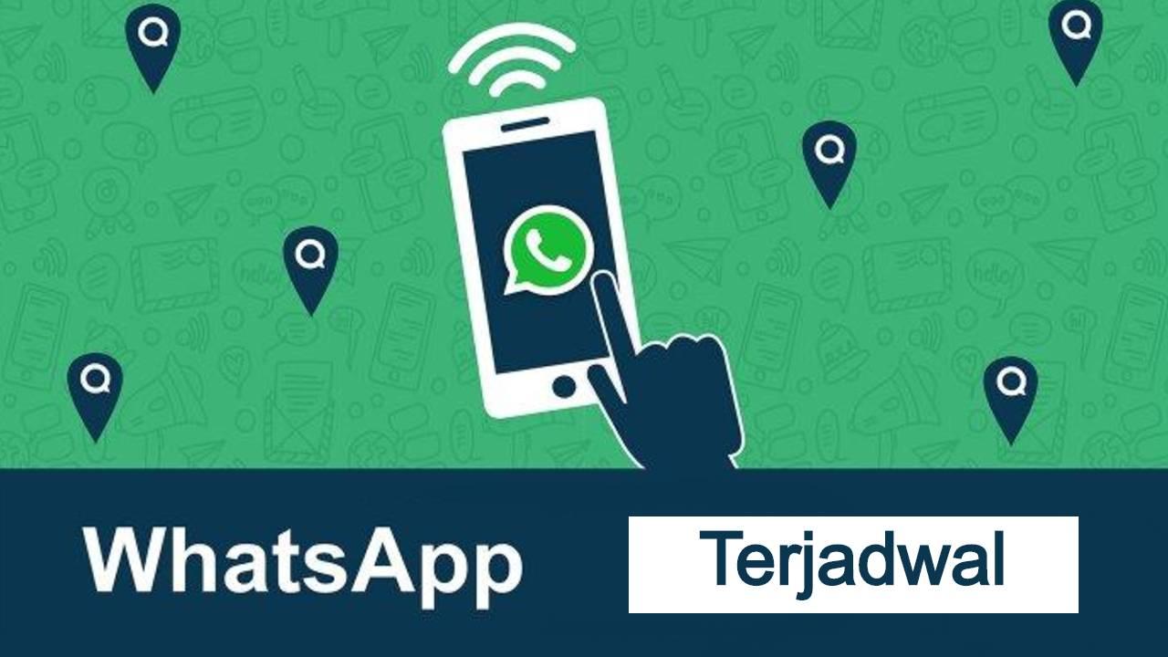cara kirim pesan terjadwal whatsapp
