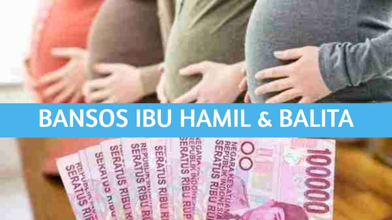 bansos ibu hamil dan balita
