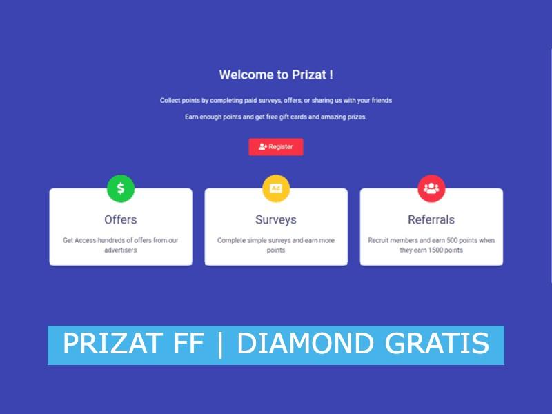 prizat gratis diamond