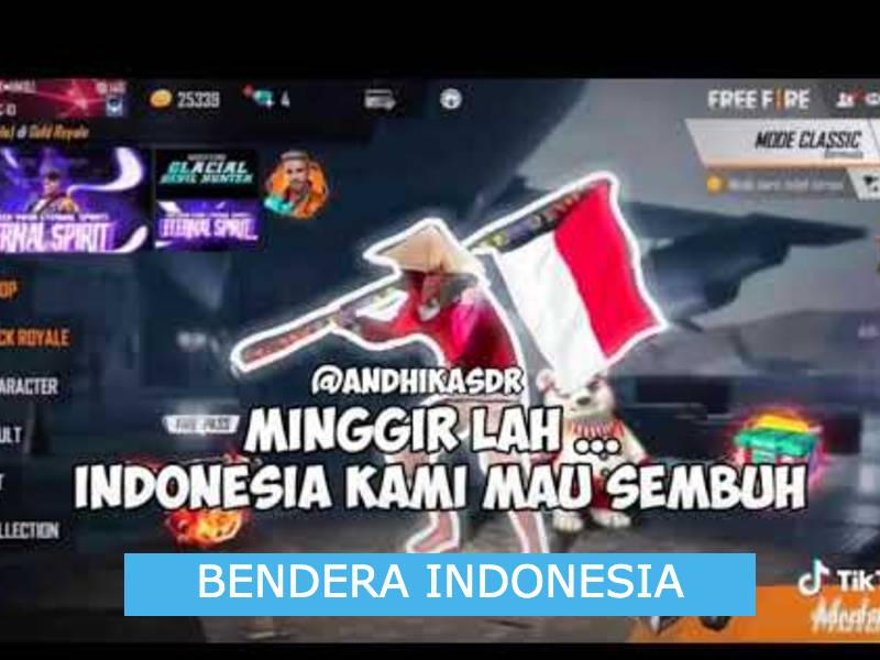 Cara Membuat Bendera Indonesia di Profil FF