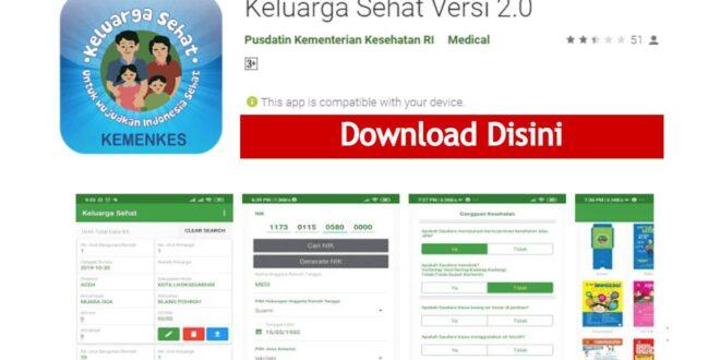 Download Aplikasi Keluarga Sehat