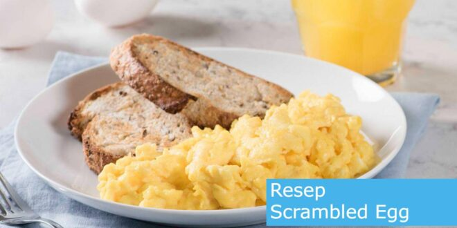 resep Scrambled Egg