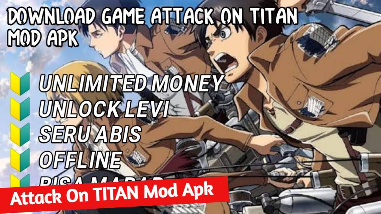d Attack On Titan (AOT) Mobile Mod Apk