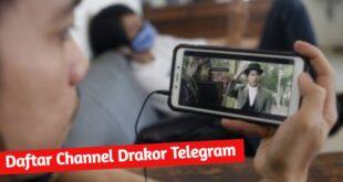 Daftar Link Channel serta Group Drakor di Telegram
