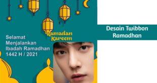 Desain Twibbon Ramadhan