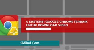 Ekstensi Download Video Google Chrome