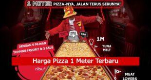 Harga Pizza 1 Meter Terbaru