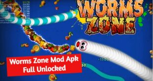 Worms Zone Mod game cacing mod